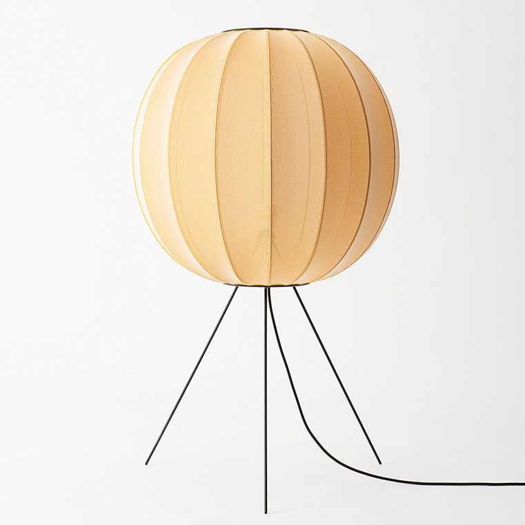 Reinterpretation of the rice paper lamp